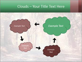Autumn trees PowerPoint Template - Slide 72