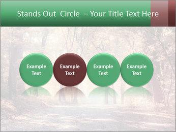 Autumn trees PowerPoint Template - Slide 76