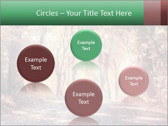 Autumn trees PowerPoint Template - Slide 77