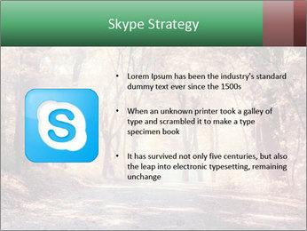 Autumn trees PowerPoint Template - Slide 8