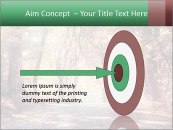 Autumn trees PowerPoint Template - Slide 83