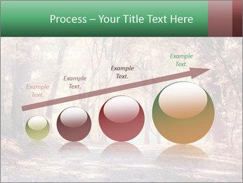 Autumn trees PowerPoint Template - Slide 87