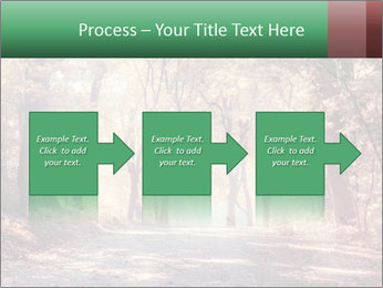 Autumn trees PowerPoint Template - Slide 88