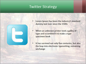 Autumn trees PowerPoint Template - Slide 9