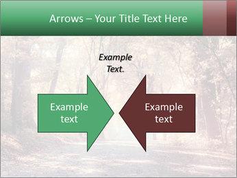 Autumn trees PowerPoint Template - Slide 90