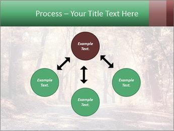 Autumn trees PowerPoint Template - Slide 91