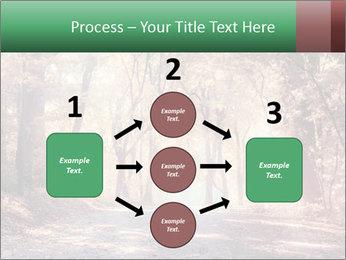 Autumn trees PowerPoint Template - Slide 92