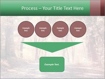 Autumn trees PowerPoint Template - Slide 93