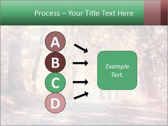 Autumn trees PowerPoint Template - Slide 94
