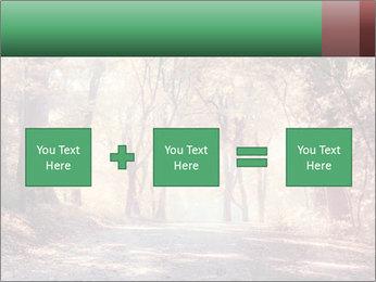 Autumn trees PowerPoint Template - Slide 95