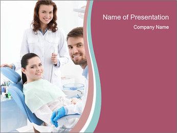 Dentist PowerPoint Template - Slide 1