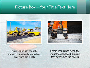 Traffic cone in the road PowerPoint Templates - Slide 18