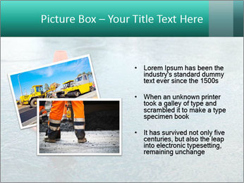 Traffic cone in the road PowerPoint Templates - Slide 20