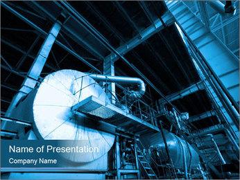 Industrial ladders PowerPoint Template - Slide 1