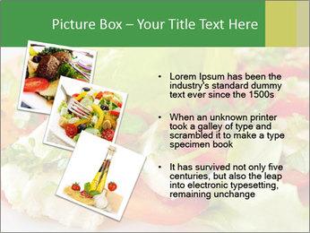 Caprese salad PowerPoint Template - Slide 17