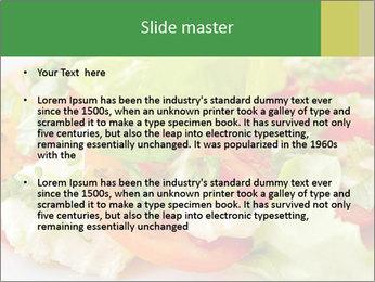 Caprese salad PowerPoint Template - Slide 2