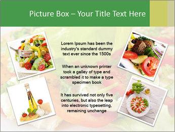 Caprese salad PowerPoint Template - Slide 24