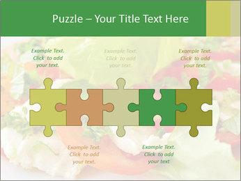 Caprese salad PowerPoint Template - Slide 41