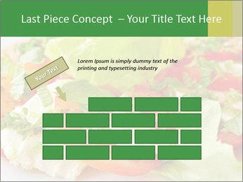 Caprese salad PowerPoint Template - Slide 46