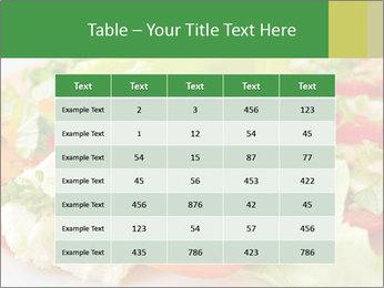 Caprese salad PowerPoint Template - Slide 55