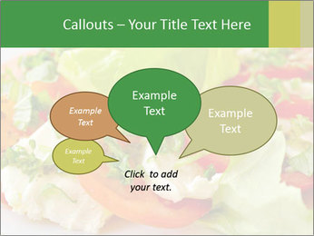 Caprese salad PowerPoint Template - Slide 73
