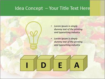 Caprese salad PowerPoint Template - Slide 80