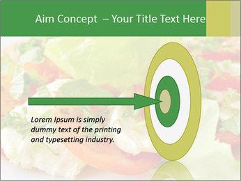 Caprese salad PowerPoint Template - Slide 83
