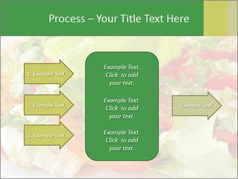 Caprese salad PowerPoint Template - Slide 85