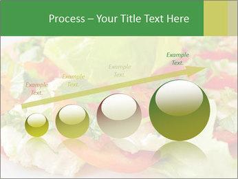 Caprese salad PowerPoint Template - Slide 87