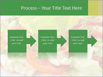 Caprese salad PowerPoint Template - Slide 88