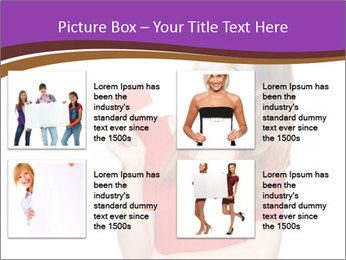 Teenager female PowerPoint Template - Slide 14