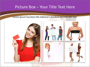 Teenager female PowerPoint Template - Slide 19