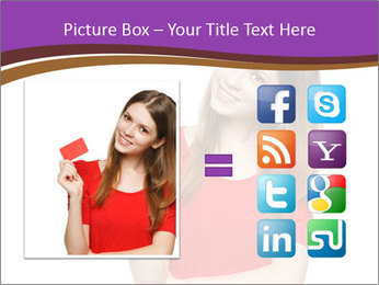 Teenager female PowerPoint Template - Slide 21