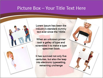 Teenager female PowerPoint Template - Slide 24