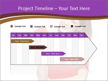 Teenager female PowerPoint Template - Slide 25