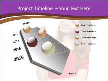 Teenager female PowerPoint Template - Slide 26