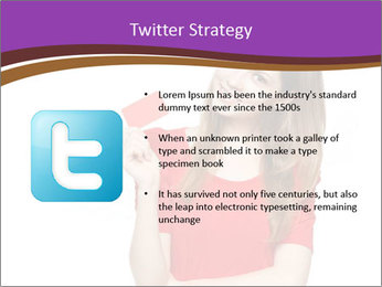 Teenager female PowerPoint Template - Slide 9