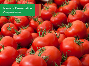 Tomatoes PowerPoint Template - Slide 1