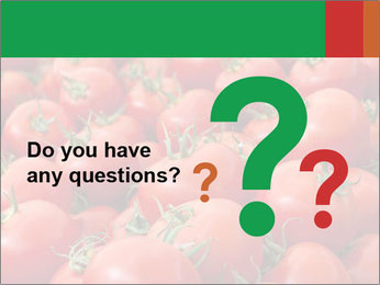 Tomatoes PowerPoint Template - Slide 96