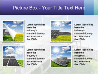 Solar energy panels PowerPoint Template - Slide 14