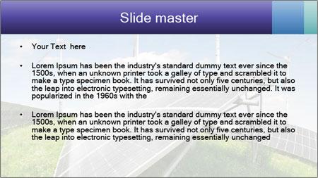 Solar energy panels PowerPoint Template - Slide 2