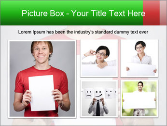 Man in a red shirt PowerPoint Template - Slide 19