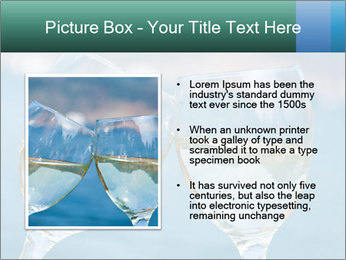 Two wineglasses PowerPoint Template - Slide 13