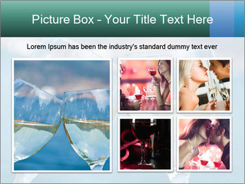 Two wineglasses PowerPoint Template - Slide 19