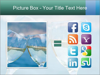 Two wineglasses PowerPoint Template - Slide 21