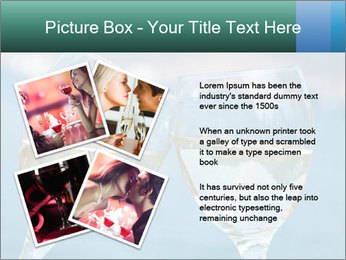 Two wineglasses PowerPoint Template - Slide 23