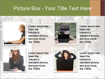 Businesswoman PowerPoint Template - Slide 14