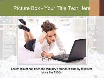 Businesswoman PowerPoint Template - Slide 15