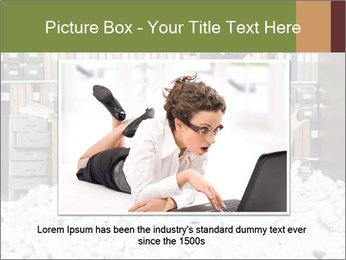 Businesswoman PowerPoint Template - Slide 16