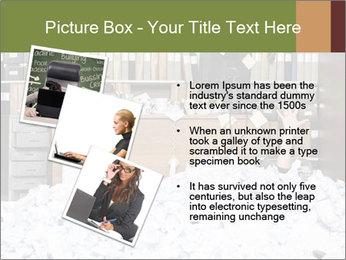 Businesswoman PowerPoint Template - Slide 17